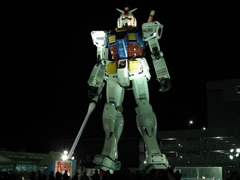 Project Untuk Membuat Gundam RX-78-2 Ini Berjalan