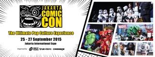 [EVENT] Jakarta Comic Con Akan Hadir Bersamaan dengan AFAID2015