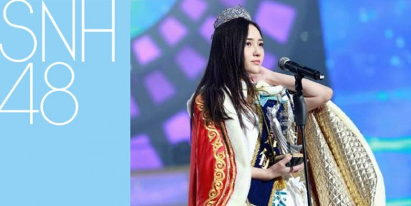 savoki-snh48-general-election-queen