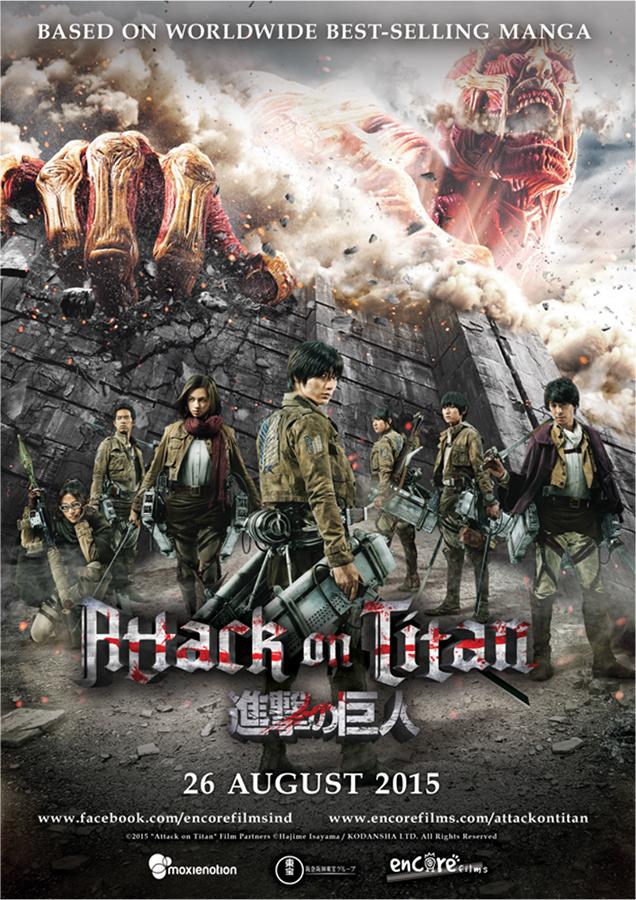 [Review] Attack on Titan Part 1 Hadir dengan Penuh Aksi yang Menegangkan