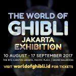 """Ghibli Exhibiton"" Pertama di Asia Tenggara Akan Hadir di Jakarta"