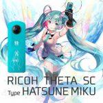 RICOH Umumkan seri kamera 360 versi Hatsune Miku