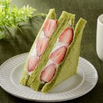 "Lawson Japan Rilis Varian ""Green Tea"" dari Strawberry Custard Sandwich"
